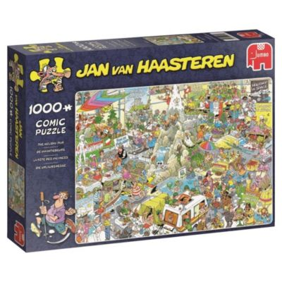 Die Urlaubsmesse (Puzzle), Jan Van Haasteren