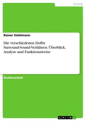 Die verschiedenen Dolby Surround-Sound-Verfahren: Überblick, Analyse und Funktionsweise, Rainer Stahlmann