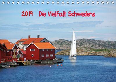 Die Vielfalt Schwedens (Tischkalender 2019 DIN A5 quer), Reinhard Pantke