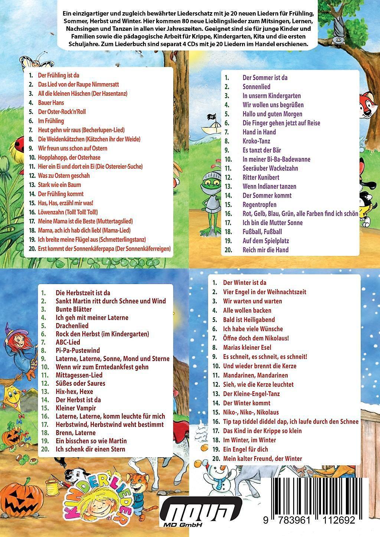 Die vier Jahreszeiten sind da - Das Liederbuch Buch portofrei