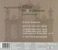 Die vier Orgelsonaten - Produktdetailbild 1
