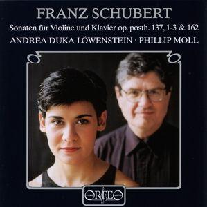 Die Vier Violinsonaten D 384/385/408/574, Duka Löwenstein, Moll