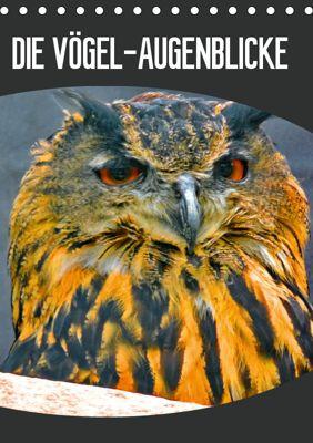 DIE VÖGEL - AUGENBLICKE (Tischkalender 2019 DIN A5 hoch), J. Fryc