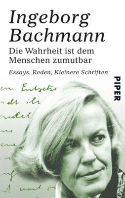 Die Wahrheit ist dem Menschen zumutbar - Ingeborg Bachmann pdf epub