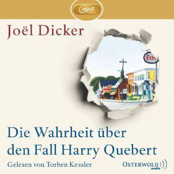 Die Wahrheit über den Fall Harry Quebert, 3 MP3-CDs, Joël Dicker