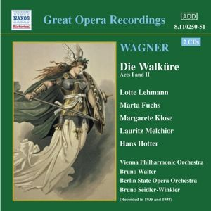 Die Walküre, Walter, Lehmann, Fuchs