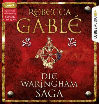 Die Waringham-Saga, 8 MP3-CDs, Rebecca Gablé