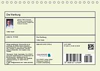 Die Wartburg - Weltkulturerbe im Herzen Deutschlands (Tischkalender 2019 DIN A5 quer) - Produktdetailbild 13