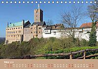 Die Wartburg - Weltkulturerbe im Herzen Deutschlands (Tischkalender 2019 DIN A5 quer) - Produktdetailbild 3