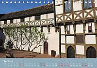 Die Wartburg - Weltkulturerbe im Herzen Deutschlands (Tischkalender 2019 DIN A5 quer) - Produktdetailbild 4