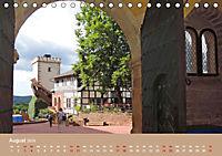 Die Wartburg - Weltkulturerbe im Herzen Deutschlands (Tischkalender 2019 DIN A5 quer) - Produktdetailbild 8