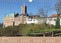 Die Wartburg - Weltkulturerbe im Herzen Deutschlands (Wandkalender 2019 DIN A4 quer) - Produktdetailbild 3