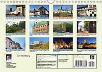 Die Wartburg - Weltkulturerbe im Herzen Deutschlands (Wandkalender 2019 DIN A4 quer) - Produktdetailbild 13