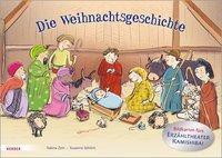 Die Weihnachtsgeschichte. Bildkarten fürs Erzähltheater Kamishibai - Sabine Zett |