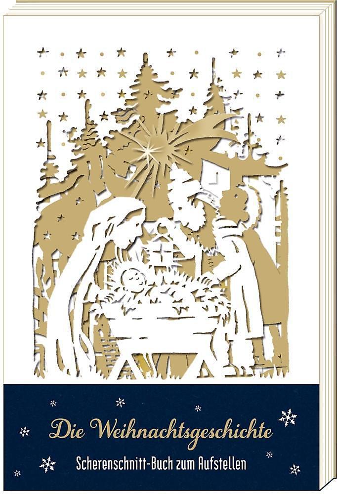 Die Weihnachtsgeschichte, Leporello Buch portofrei - Weltbild.de