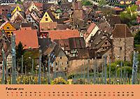 Die Weinstasse im Elsass (Wandkalender 2019 DIN A2 quer) - Produktdetailbild 2