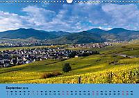 Die Weinstasse im Elsass (Wandkalender 2019 DIN A3 quer) - Produktdetailbild 9