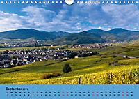 Die Weinstaße im Elsass (Wandkalender 2019 DIN A4 quer) - Produktdetailbild 9
