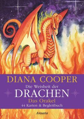 Die Weisheit der Drachen - Das Orakel, m. Orakelkarten, Diana Cooper