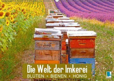 Die Welt der Imkerei: Blüten, Bienen, Honig (Wandkalender 2019 DIN A2 quer), CALVENDO