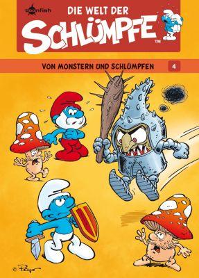 Die Welt der Schlümpfe: Die Welt der Schlümpfe Bd. 4 – Von Monstern und Schlümpfen, Peyo