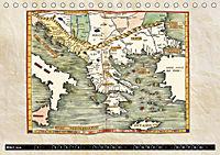 Die Welt nach Ptolemäus (Tischkalender 2019 DIN A5 quer) - Produktdetailbild 3