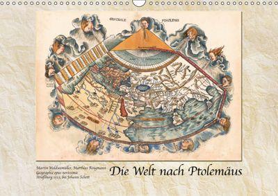Die Welt nach Ptolemäus (Wandkalender 2019 DIN A3 quer), k.A. Tunabooks/olf