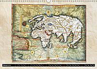 Die Welt nach Ptolemäus (Wandkalender 2019 DIN A3 quer) - Produktdetailbild 1
