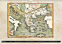 Die Welt nach Ptolemäus (Wandkalender 2019 DIN A3 quer) - Produktdetailbild 3
