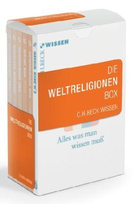 Die Weltreligionen Box, 6 Bde., Kurt Nowak, Günter Stemberger, Heinrich von Stietencron, Heinz Halm, Helwig Schmidt-Glintzer