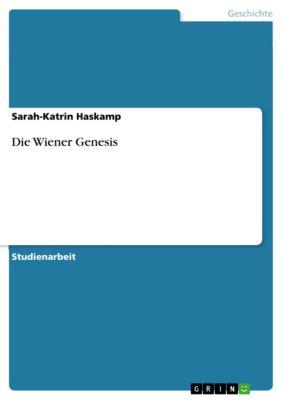 Die Wiener Genesis, Sarah-Katrin Haskamp