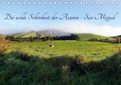 Die wilde Schönheit der Azoren - Sao Miguel (Tischkalender 2019 DIN A5 quer), Rabea Albilt