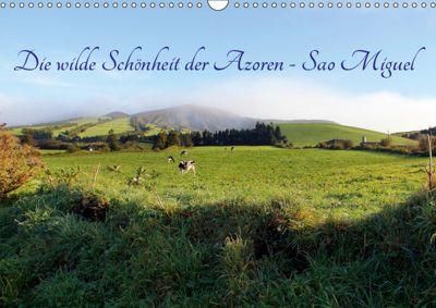 Die wilde Schönheit der Azoren - Sao Miguel (Wandkalender 2019 DIN A3 quer), Rabea Albilt
