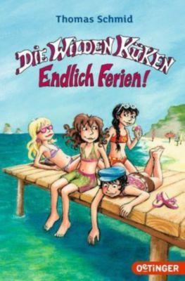 Die Wilden Küken - Endlich Ferien!, Thomas Schmid, Cornelia Funke