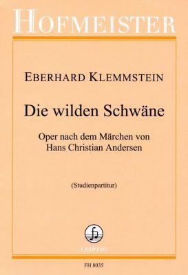 Die wilden Schwäne, 15 Gesangssolisten, Orchester, Studienpartitur, Eberhard Klemmstein
