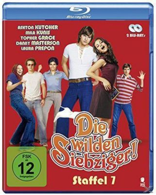 Die wilden Siebziger - Season 7 - 2 Disc Bluray