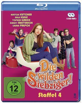 Die wilden Siebziger! - Staffel 4 - 2 Disc Bluray