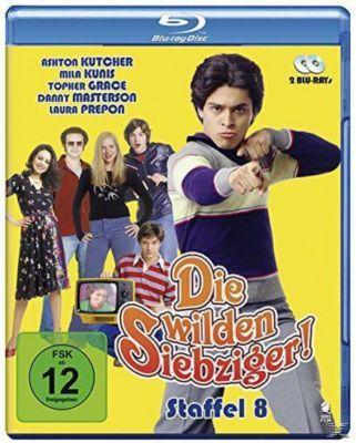 Die wilden Siebziger! - Staffel 8 - 2 Disc Bluray