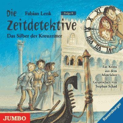 Die Zeitdetektive - Das Silber der Kreuzritter, 1 Audio-CD, Fabian Lenk