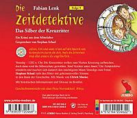 Die Zeitdetektive - Das Silber der Kreuzritter, 1 Audio-CD - Produktdetailbild 1
