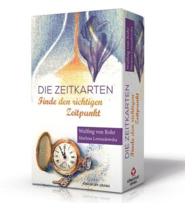 Die Zeitkarten, Orakelkarten und Buch - Wulfing von Rohr |