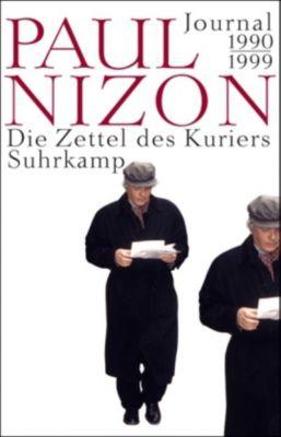 Die Zettel des Kuriers, Paul Nizon