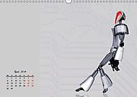 Die Zukunft. Roboter, Androiden und Cyborgs (Wandkalender 2019 DIN A3 quer) - Produktdetailbild 4