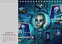 Die Zukunft. Roboter, Androiden und Cyborgs (Tischkalender 2019 DIN A5 quer) - Produktdetailbild 12