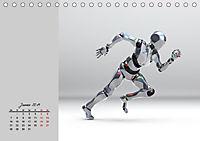 Die Zukunft. Roboter, Androiden und Cyborgs (Tischkalender 2019 DIN A5 quer) - Produktdetailbild 1