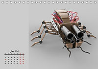 Die Zukunft. Roboter, Androiden und Cyborgs (Tischkalender 2019 DIN A5 quer) - Produktdetailbild 6