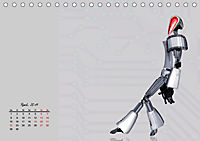 Die Zukunft. Roboter, Androiden und Cyborgs (Tischkalender 2019 DIN A5 quer) - Produktdetailbild 4