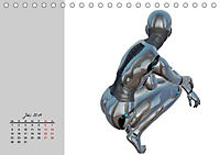 Die Zukunft. Roboter, Androiden und Cyborgs (Tischkalender 2019 DIN A5 quer) - Produktdetailbild 7
