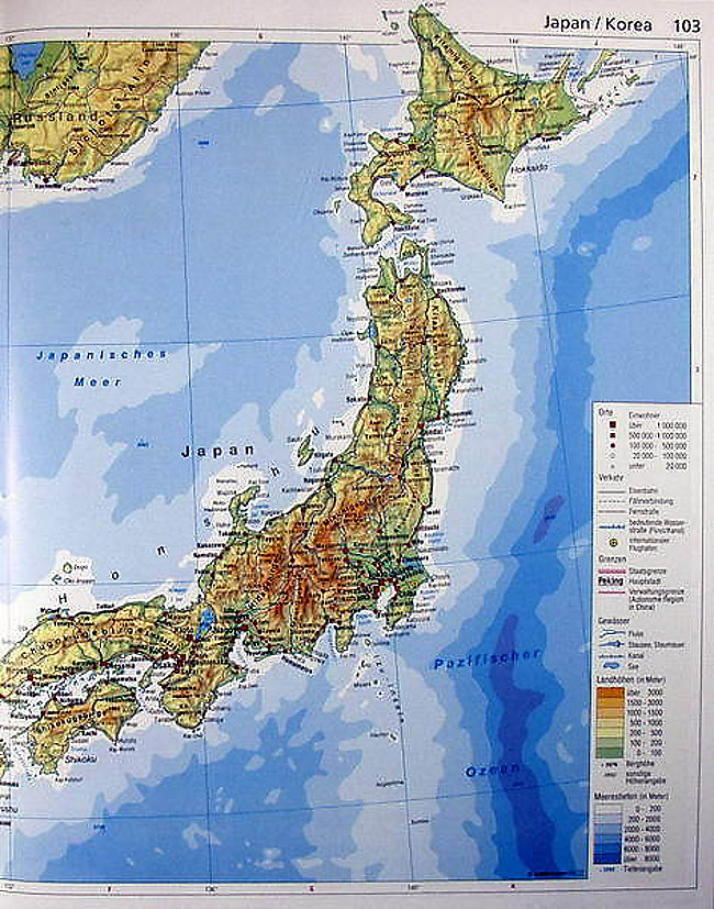 Japan Karte Physisch.Diercke Die Welt In Karten Buch Portofrei Bei Weltbild De