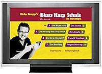 Dieter Kropp's Blues Harp Schule, m. Audio-CD u. DVD - Produktdetailbild 1